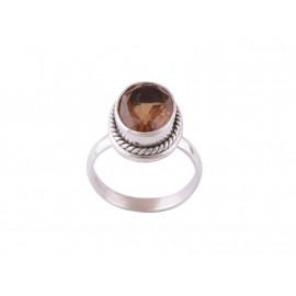 Stříbrný prsten s alexandritem