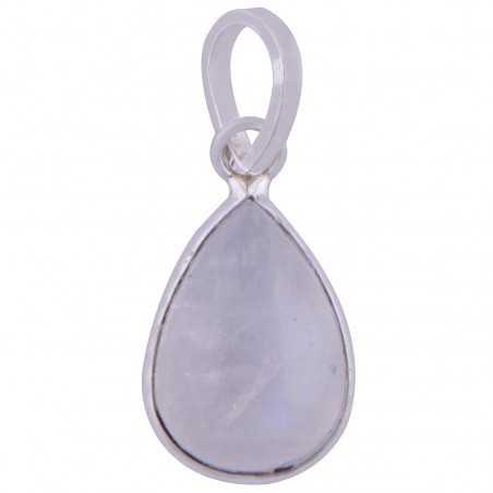 Stříbrný přívěsek s mesíčním kamenem