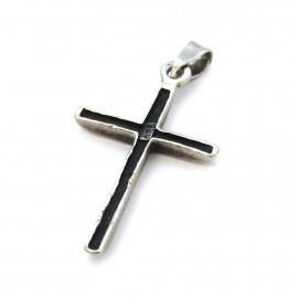 Stříbrný přívěsek kříž
