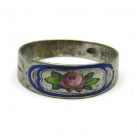 Starožitný stříbrný prsten