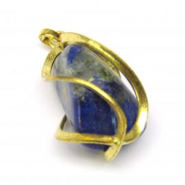 Přívěsek s lapis lazuli v kleci