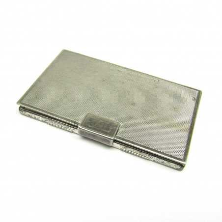 Stříbrná tabatěrka
