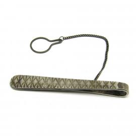Stříbrná spona na kravatu