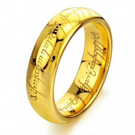 Ocelový prsten moci z Pána prstenů a Hobit