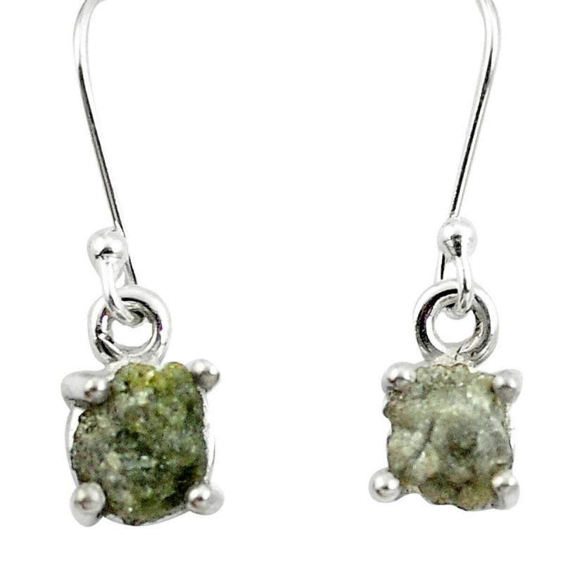 Stříbrné naušnice s diamanty