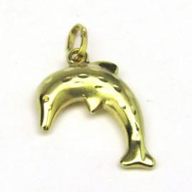 14 kt zlatý přívěsek delfín
