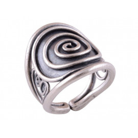Stříbrný autorský prsten