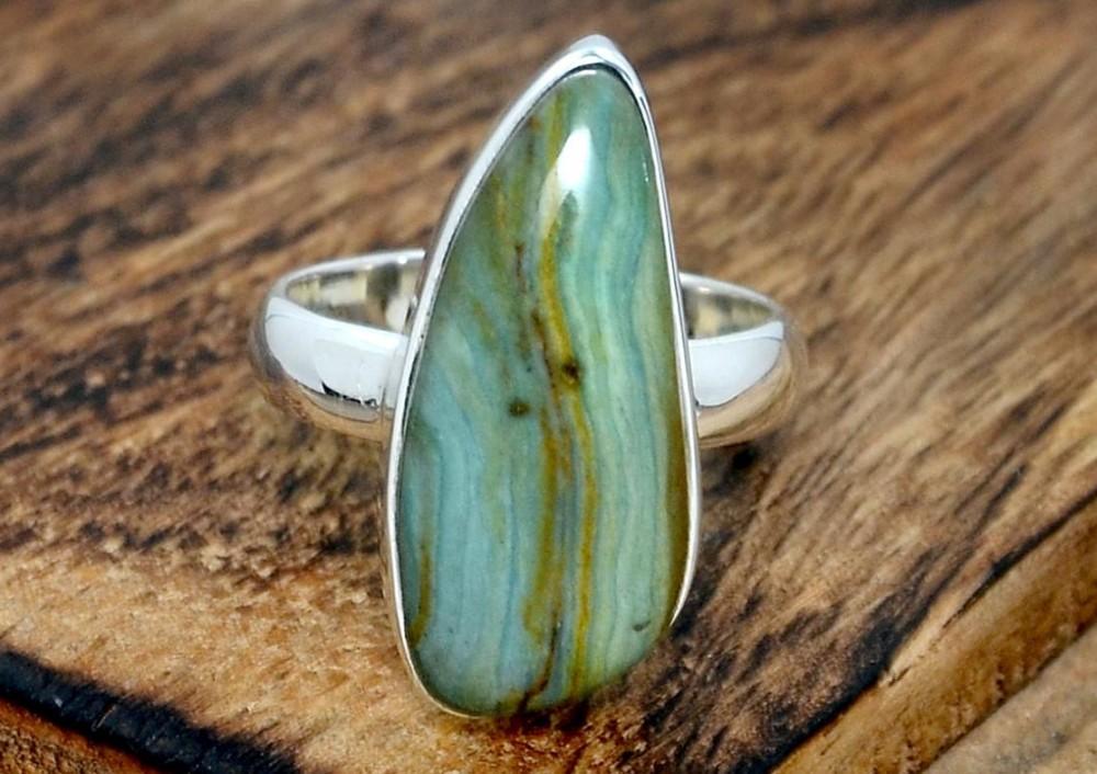 Prsten s jaspisem